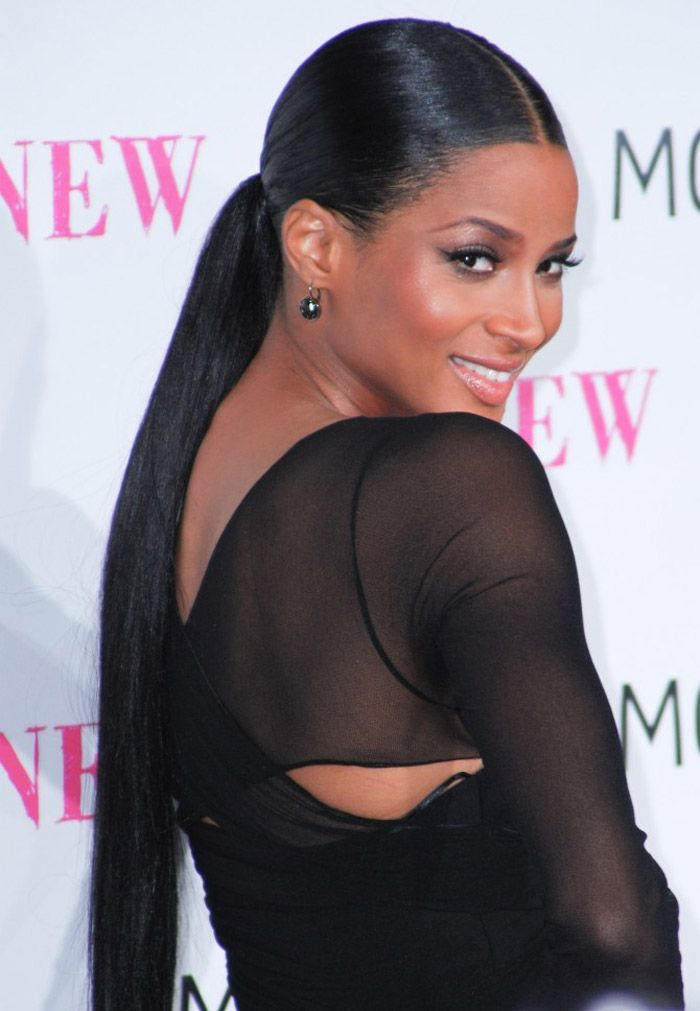 25 best ideas about Black ponytail hairstyles on Pinterest  High
