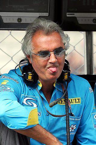 Flavio Briatore  Renault Team Principal