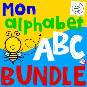 Boom Cards - Mon Alphabet BUNDLE