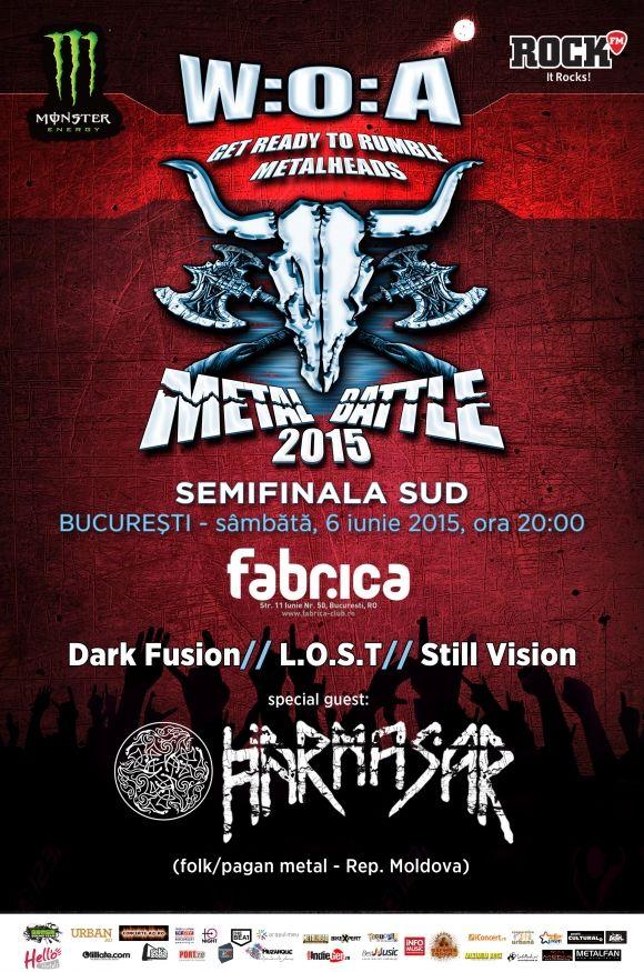 Semifinala Sud - Wacken Metal Battle Romania 2015