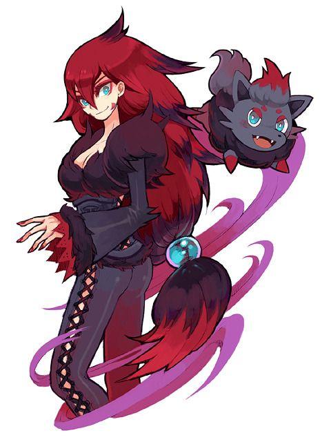 gijinka-dex | alle pokemon, charakterdesign, niedliche pokemon