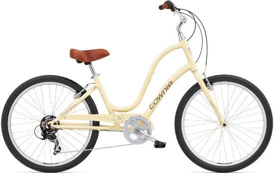 Electra Women's Townie Original 7D flat-foot comfort bike