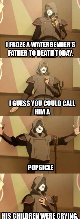 Amon the standup...