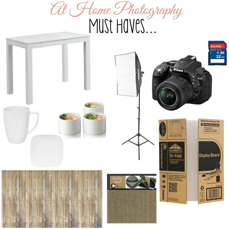 At Home Photography Must Haves - A Spark of Creativity