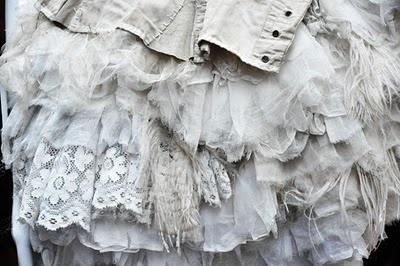 ruffles: Princesses Weddings Dresses, Layered Mystylepinboard, Vintage Lace, Vintage Fabrics, Layered My Styles Pinboard, Vintage Roses, Vintage Linens, White Textiles, Ruffles