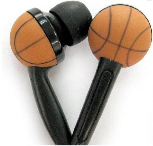 Special Offers - WCI Kids Sports Phones  Cute Pair Of Quality Stereo Earphones With Inset Basketball Design  Connect To iPod iPhone Droid Blackberry MP3 Player And All 3.5mm Audio Devices  For The Basketball Loving Child For Sale - In stock & Free Shipping. You can save more money! Check It (December 18 2016 at 01:07PM)…