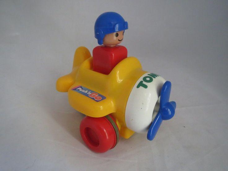 Push N Go Airplane By Tomy Baby Einstein Toys Toys