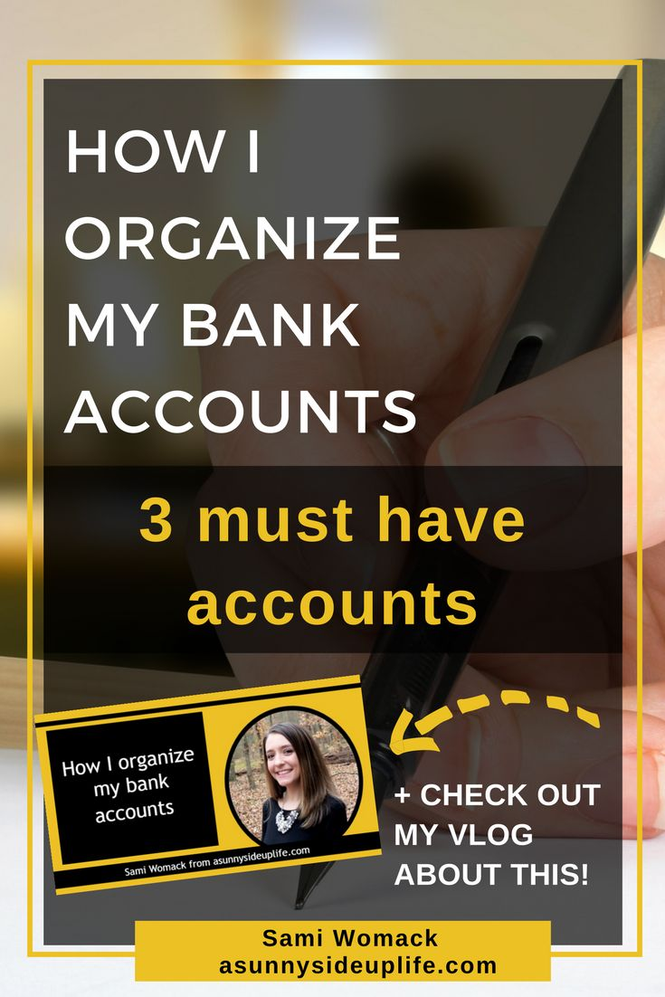 I'll share with you how I organize my bank accounts, what has worked best for my family as we work through paying off our $490k worth of debt, + give you some real life examples to actually help you get started organizing your own bank accounts. //  checking account|savings account|emergency fund|debit card|cash system|envelope system|budget|how to|where to start|dave rasmey|family budget|get started|pay off debt|save money|mom hacks|start a budget|organize budget|begin