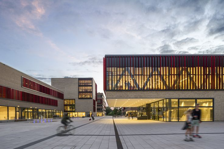 Completed in 2016 in Mülheim, Germany. Images by Christa Lachenmaier. The Hochschule Ruhr West - University of Applied Sciences in Mülheim an der Ruhr, Germany, in short the HRW, is part of a nationwide development of...