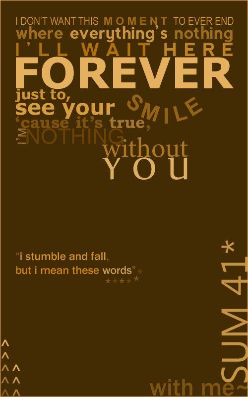 Sum 41Best Songs Sum41 Songs Lyrics Sweets Lyrics Music 3 Sum 41