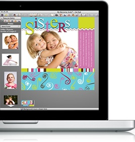 I love this software.  Easy to use and affordable. Use the code STMMMS8072 to get a $10 discount off the purchase of the My Memories Suite Scrapbook software AND a $10 coupon for the MyMemories.com store - Wow!