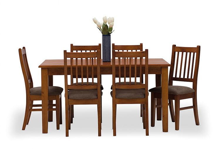 Mossman 7 Piece Dining Suite | Super A-Mart