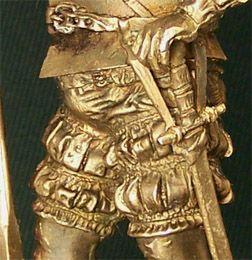 Бронзовая скульптура Конкистадор. Увеличено