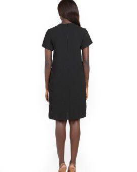 #LBD #africanstyle #blackdress