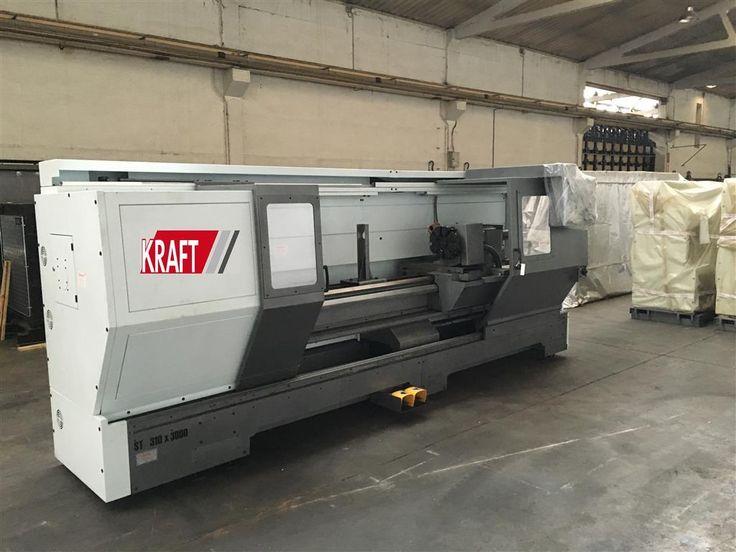 new in stock: CNC Dreh Fräsmaschine - CNC KRAFT KT 310/2000 №1124-150317f Baujahr 2017 get quote now!
