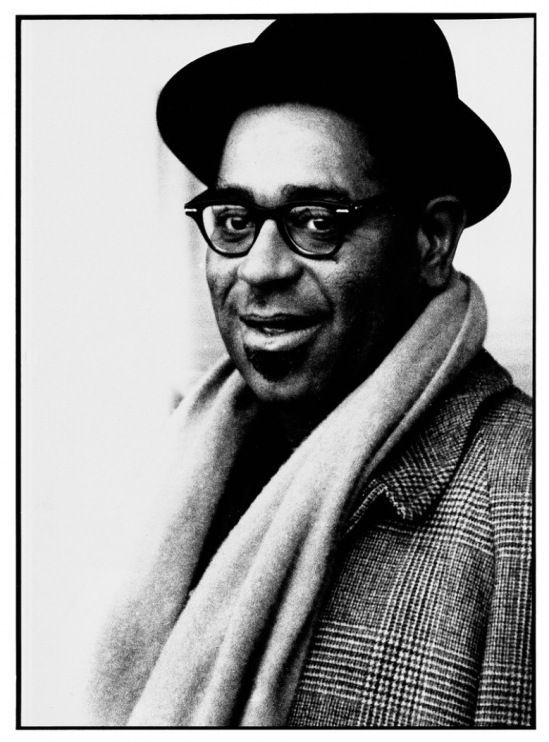 American jazz trumpet great, bandleader and composer, Dizzy Gillespie