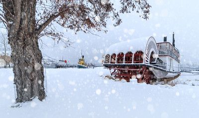 Nautical Winter - Sicmous Snowday - Drew Photography Penticton - Winter Landscapes