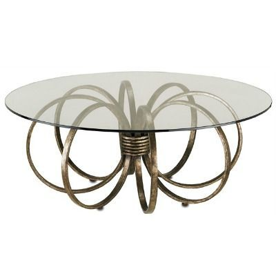 table round glass coffee with wood base subway tile baby top and