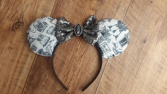 Hey, I found this really awesome Etsy listing at https://www.etsy.com/uk/listing/527932400/haunted-house-disney-ears