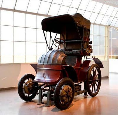 The first 4 wheel drive... was a Porsche. It was also the first hybrid. It was over 110 years ago as well