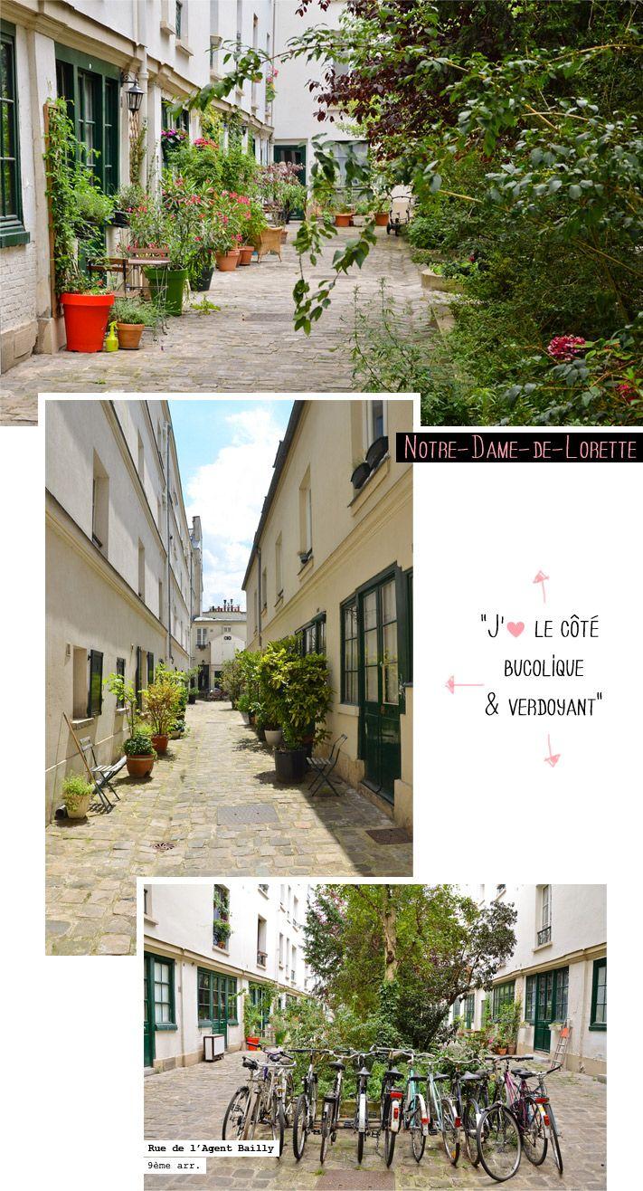"""PARIS """" des petits coins de paradis bien planqués. Dès que je peux pousser une porte cochère, je le fais sans hésitation, toujours à l'affût d'un joli patio, ou d'une charmante cour pavée agrémentée d'un jardin ou d'un potager."""""""