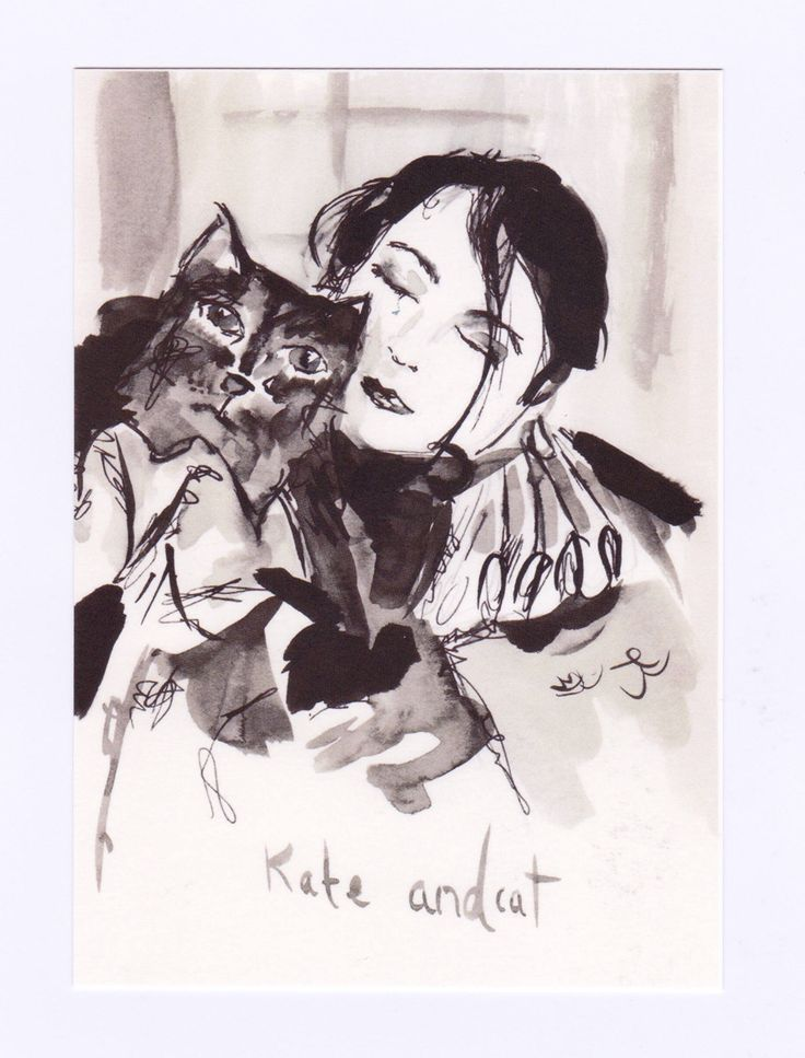 Yay ♥️ Kate Bush and Cat A6 postcard art has now been added to my #etsy shop!#KateBushArt. #KateBushCard. http://etsy.me/2Be0n4K #art #katebush #katebushart #katebushpostcard #katebushcard #artpostcard #catpostcard #katebushfancard #uniqueartcard