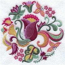 Jacobean Floral