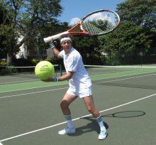 John Racket-Throw – Tennis Juggler - East Sussex