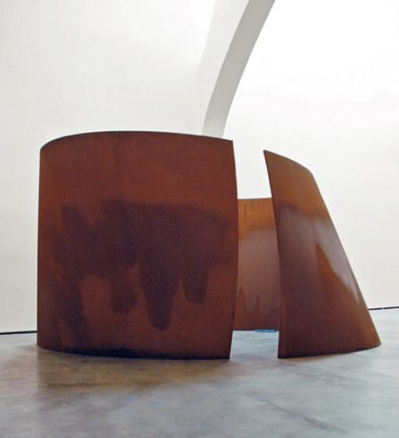 Collection Online | Richard Serra. Torqued Ellipse (Bihurritu eliptiko). 2003-2004 - Guggenheim Museum