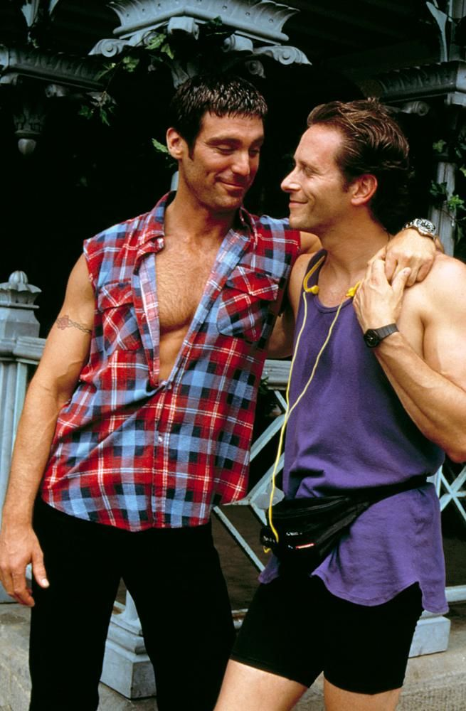 Michael Weiss, Steven Weber, 1995 | Essential Gay Themed Films To Watch, Jeffrey http://gay-themed-films.com/films-to-watch-jeffrey/