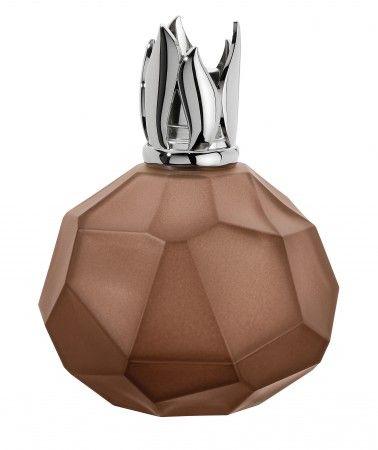 Lampe Berger Cristal de Roche Marron Glacé