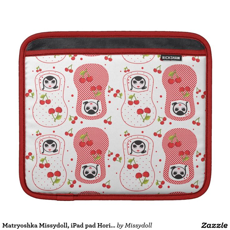 Matryoshka Missydoll, iPad pad Horizontal iPad Sleeve