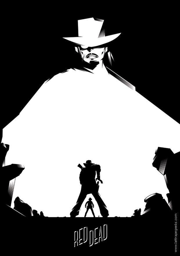 Red Dead Redemption La Voie Du Cowboy By Xav Ilustracao