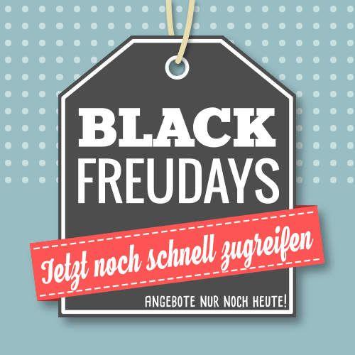 +++ BLACK FREUDAYS - Nur noch heute! +++  Die BLACK FREUDAYS sind auf die Zielgerade eingebogen. Nur noch bis Mitternacht (27.11.2017) erhaltet Ihr bei MeinCupcake.de viele Artikel zu einem reduzierten Preis. Schaut doch einfach in unserem Shop unter www.meincupcake.de/shop/specials.php vorbei und sichert Euch auf den letzten Metern attraktive Schnäppchen wie Backzutaten oder Backzubehör. Also: Jetzt noch schnell zugreifen!