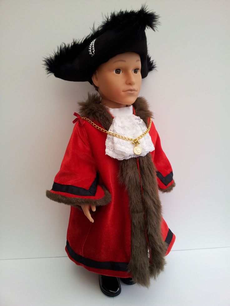 Not actually a Fairytale, this is a bespoke commissioned outfit of The Lord Mayor of London's costume with Tricon Hat, Chain of Office, Fur Trim Cloak, Shirt with Jabot, Black Breeches, White Stockings and Buckled Shoes