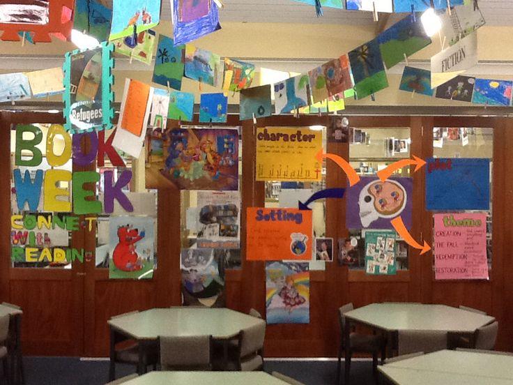 Book week themed display