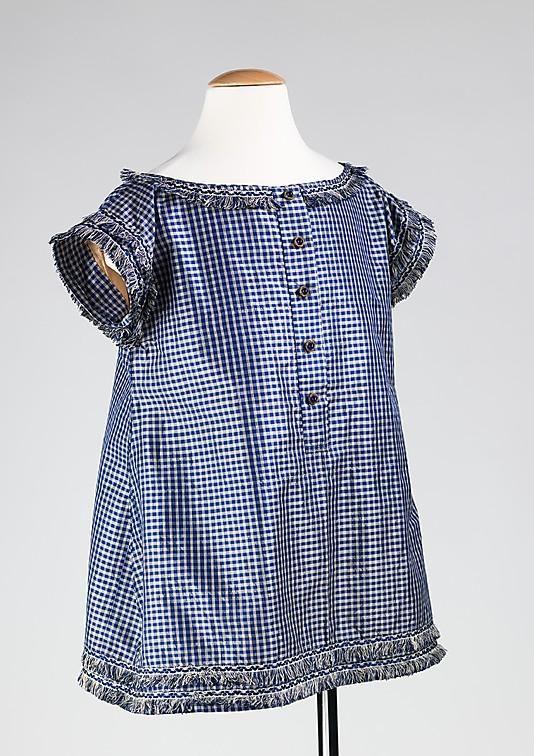 1855 г. Америка. Платье для маленького мальчика.