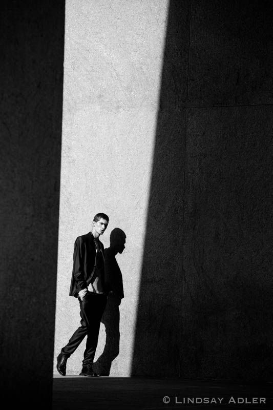 Man of Structure fashion editorial in Flaunt Magazine by LIndsay Adler