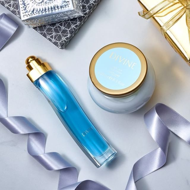 Divine EDT and body cream is a perfect gift pair. Double tap if you agree! #oriflame #perfume