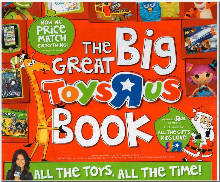 The Great Big Toys R Us Book is out!