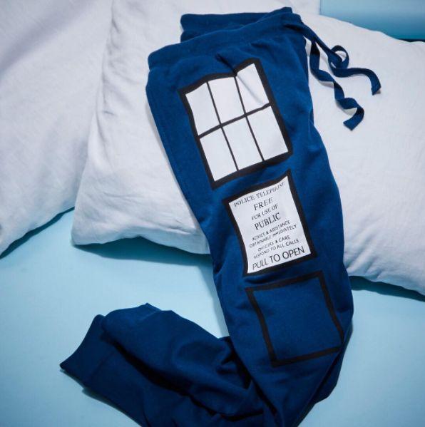 Get some rest - Doctor's order // Doctor Who Tardis Girls Jogger Pants