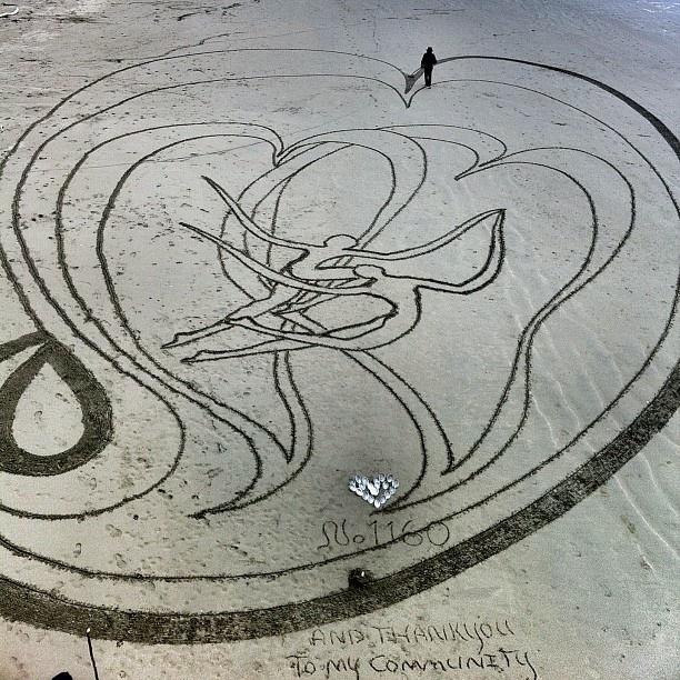 beach art New Brighton beach
