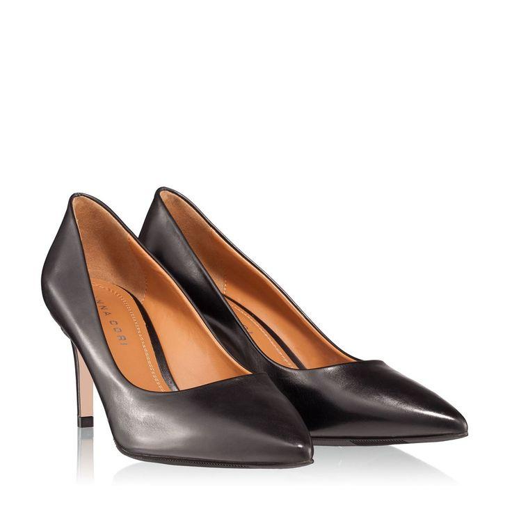 Pantofi dama negri 2451 piele naturala