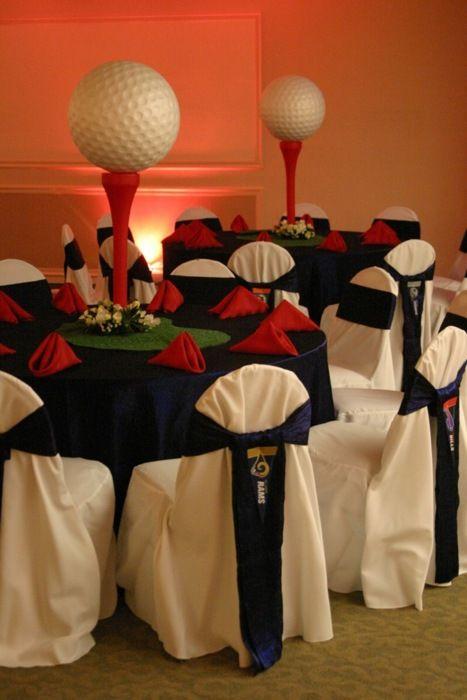 Table idea for sport theme party Keywords: #weddings #jevelweddingplanning Follow Us: www.jevelweddingplanning.com www.facebook.com/jevelweddingplanning/