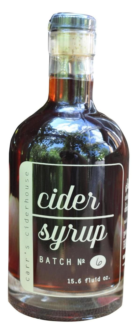 Cider syrup, as made by Carr's Ciderhouse in North Hadley, contains a blend of McIntosh, Golden Delicious, and Macoun, each variety adding its nuance to the syrup. #apple #cider #breakfast