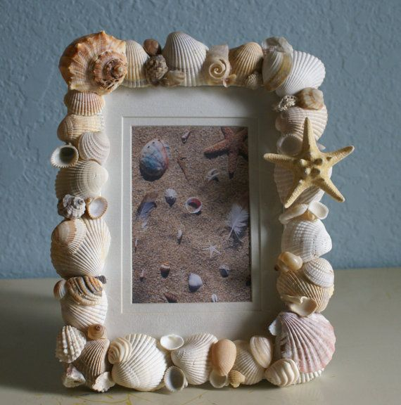 34 Fantastic Diy Home Decor Ideas With Rope: 25+ Best Ideas About Seashell Picture Frames On Pinterest