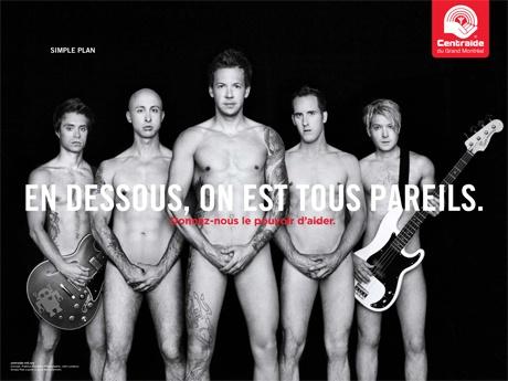 Simple Plan (Sébastien Lefebvre, Jeff Stinco, Pierre Bouvier, Chuck Comeau & David Desrosiers)