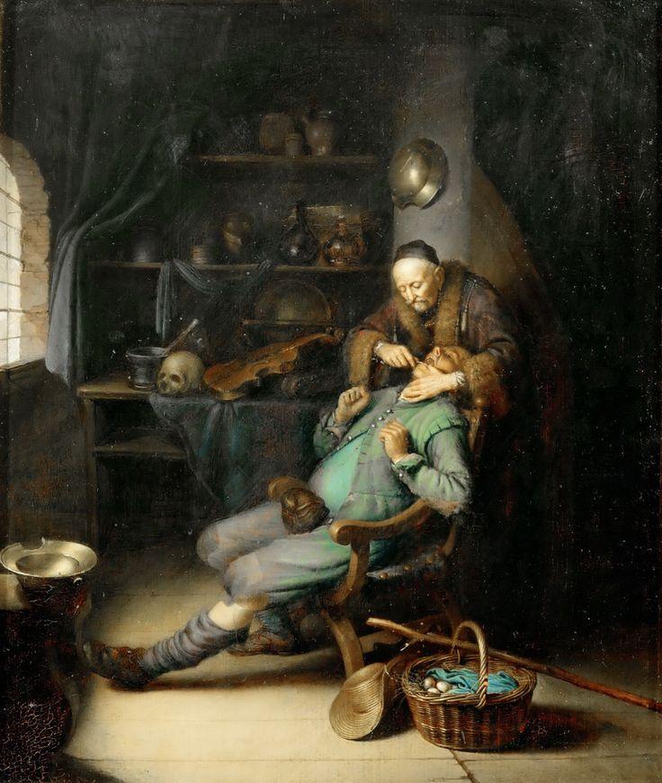 Εξαγωγή δοντιού (1630-35) Μουσείο Λούβρου