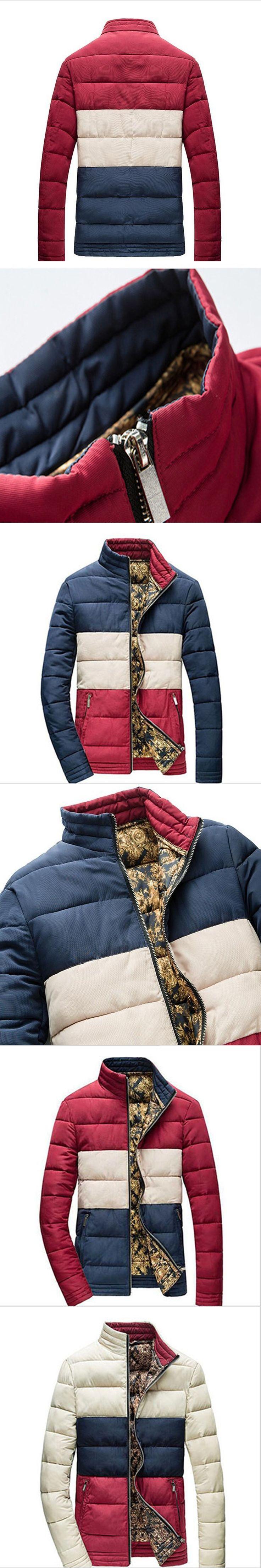 2016 winter new men's ultra-thin models down jacket men short paragraph Men's thin coat collar section