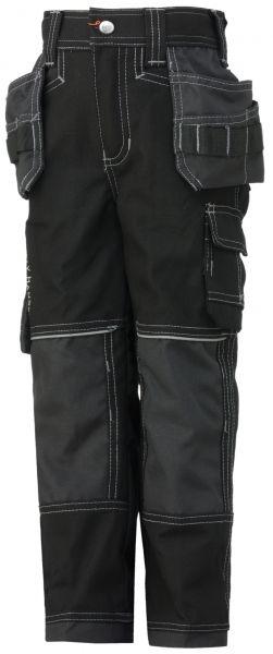 Til børn: Helly Hansen arbejdsbukser, Chelsea Junior, sort/koksgrå (76445-999) - Arbejdstøj til børn - BILLIG-ARBEJDSTØJ.DK